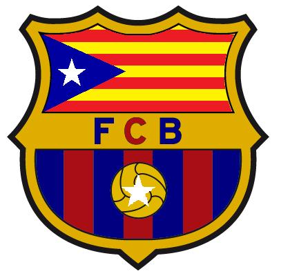 FC Barcelona Senyera Crest