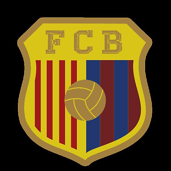FCB badge flat