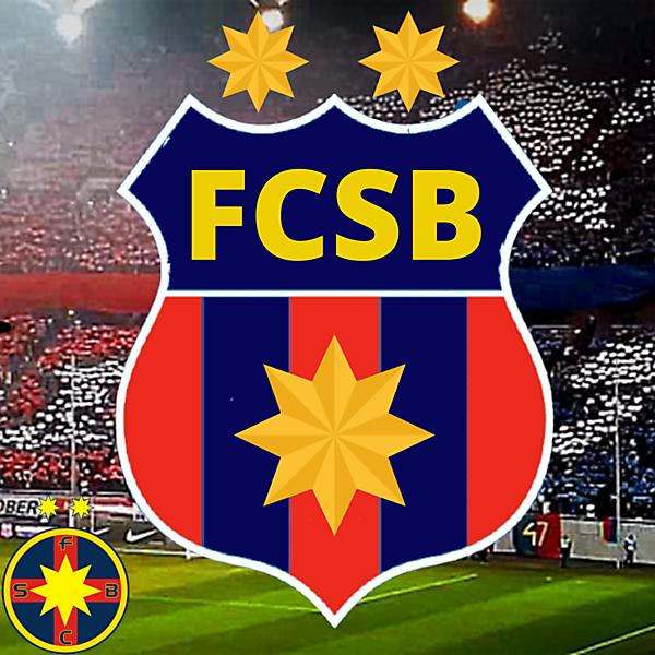 FCSB(Steaua) concept Logo