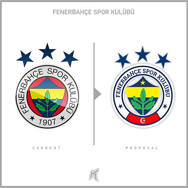 Fenerbahçe SK Logo Redesign