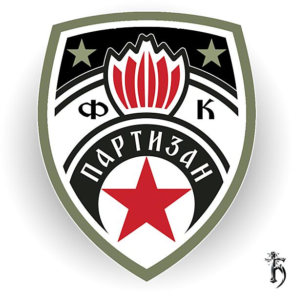 FK Partizan - redesign