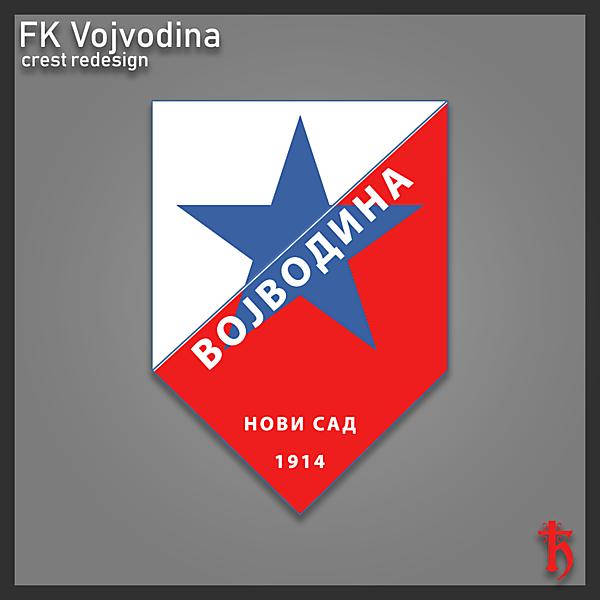 FK Vojvodina - crest redesign