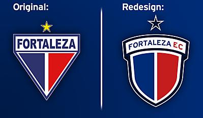 Fortaleza EC Crest Redesign