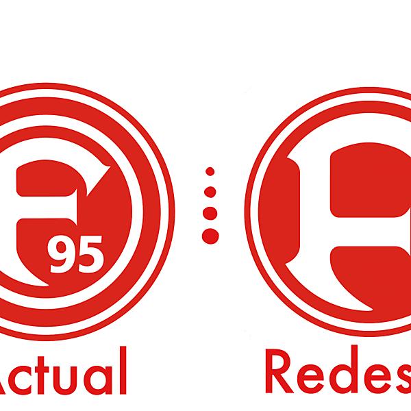 Fortuna Düsseldorf Crest Redesign