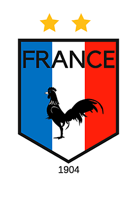 French Team Crest 2022 World Cup