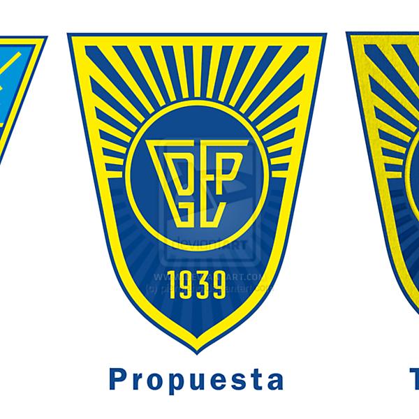G. D. Estoril Praia Badge for FH Logo Designs