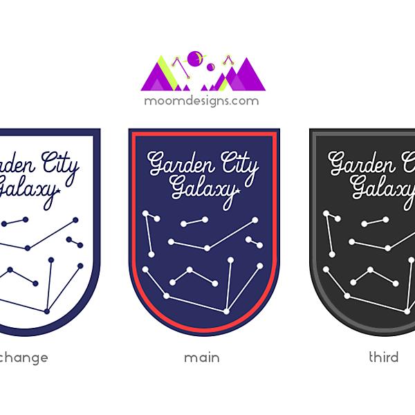 Garden City Galaxy FC Branding (Sketch 1) (for beefybeef's team)
