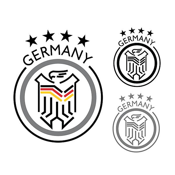 GERMANY LOGO FOOTBALL
