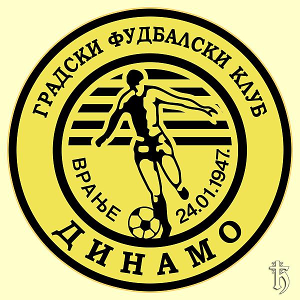 GFK Dinamo Vranje - redesign