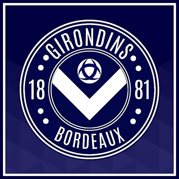 Girondins de Bordeaux Crest Redesign
