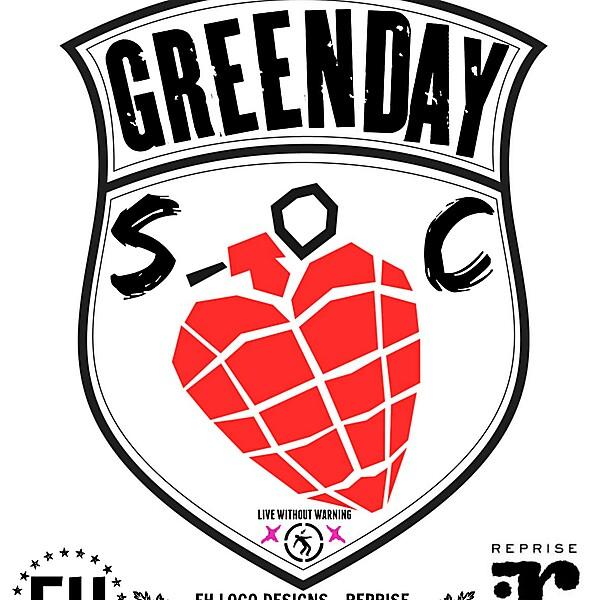 GREEN DAY SC (CREST)