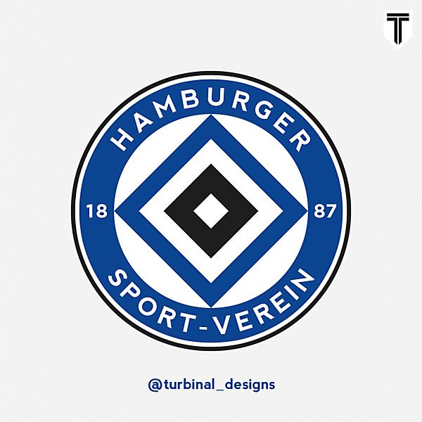 Hamburg SV Crest Redesign