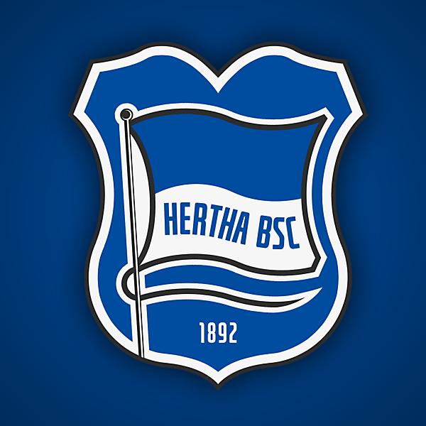 Hertha BSC | Crest Redesign