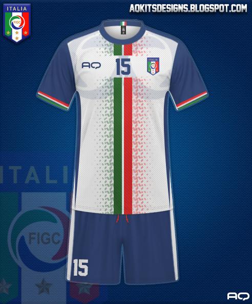 Italy Kit Design 2K17 (Away)