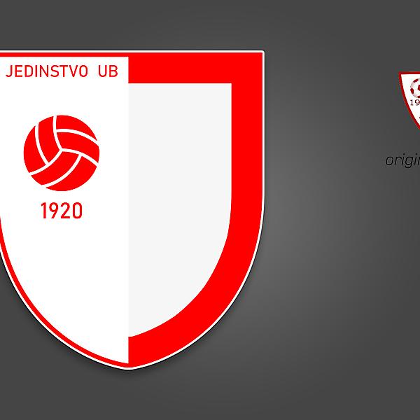 Jedinstvo Ub - crest redesign