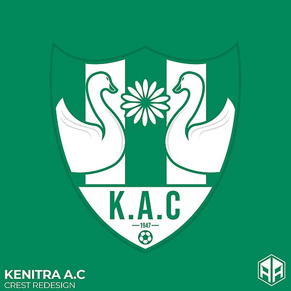 Kenitra A.C crest redesign