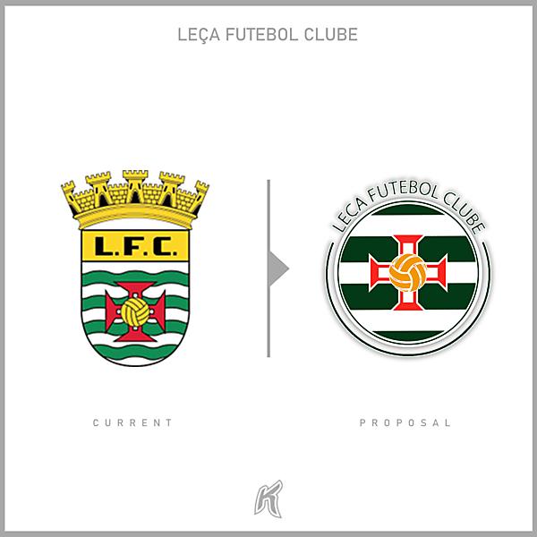 Leça FC Logo Redesign