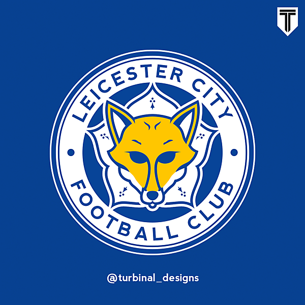Leicester City Crest Redesign
