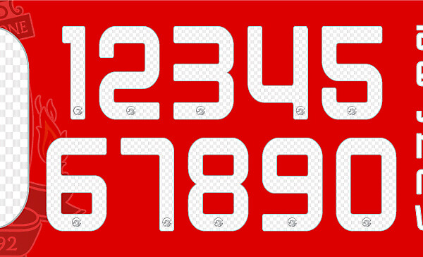 Liverpool Name and Numbers