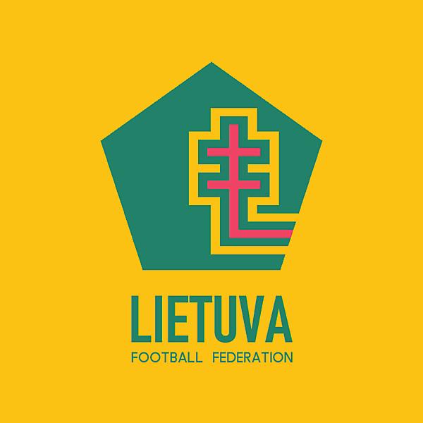 Lietuva football federation logo.