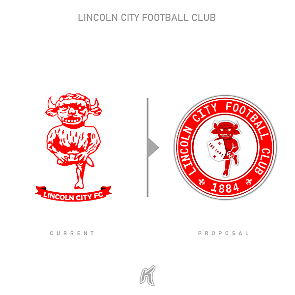 Lincoln City FC Logo Redesign