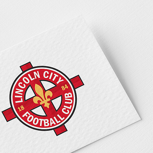 Lincoln City redesign crest concept
