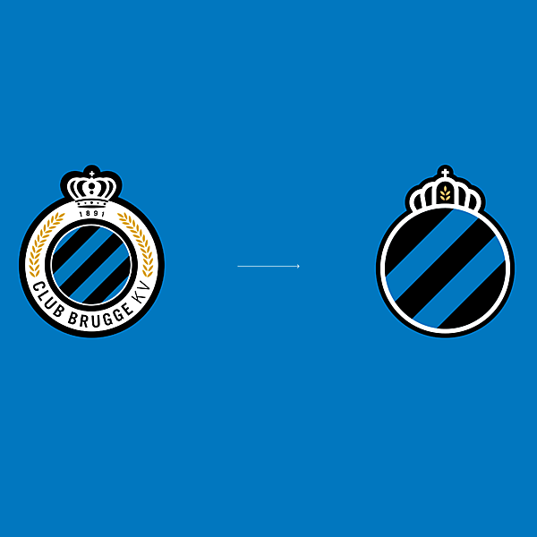 Logo refresh | Club Brugge KV