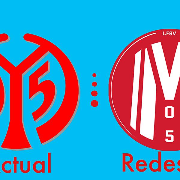 Mainz 05 Crest Redesign