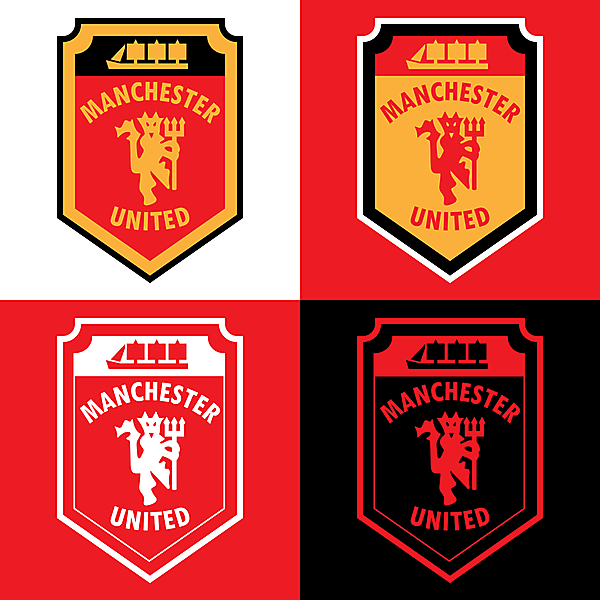 Manchester United - New Crest