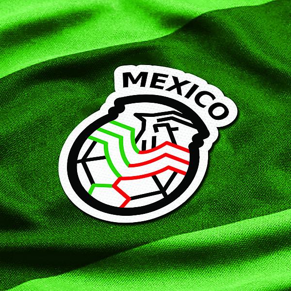 MEXICO LOGO FOOTBALL