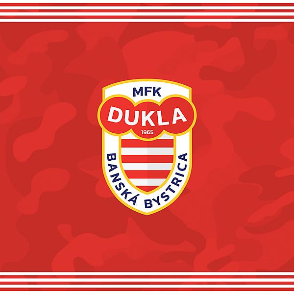 MFK Dukla Banska Bystrica logo redesign