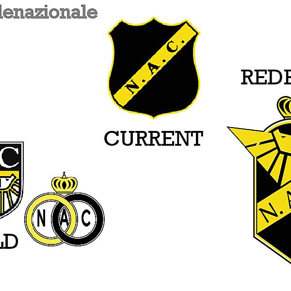 NAC Breda Fantasy Redesign Logo Crest