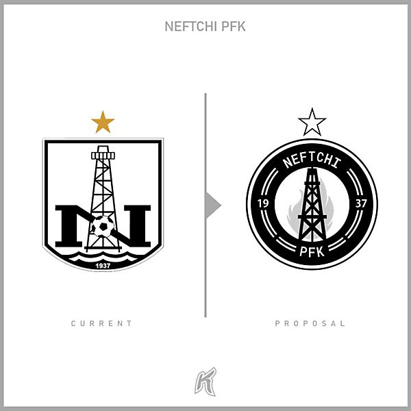 Neftchi PFK Logo Redesign