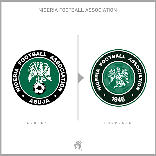 Nigeria FA Logo Redesign