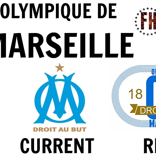 Olympique De Marseilles New Crest Idea
