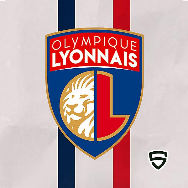 Olympique Lyonnais - Redesign Concept