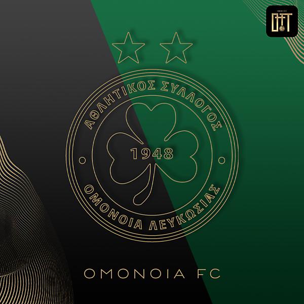 OMONOIA FC - GOLD VECTORS LOGO