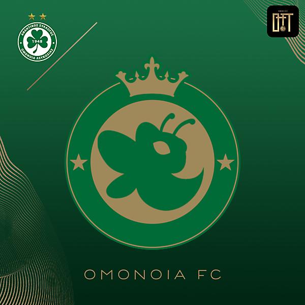 OMONOIA FC - HORNET QUEEN CONCEPT LOGO