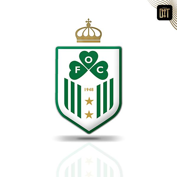 OMONOIA FC - MODERN QUEEN SHIELD CONCEPT