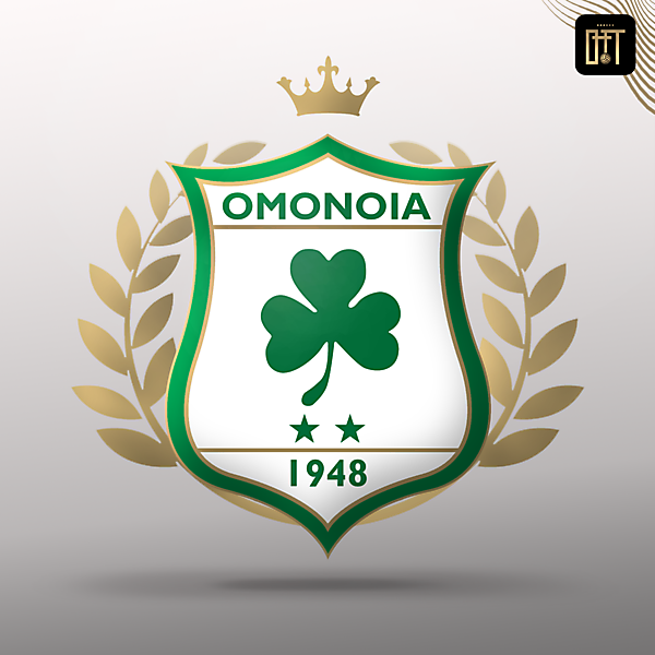 OMONOIA FC -  REDESIGN FROM RETRO SHIELD LOGO