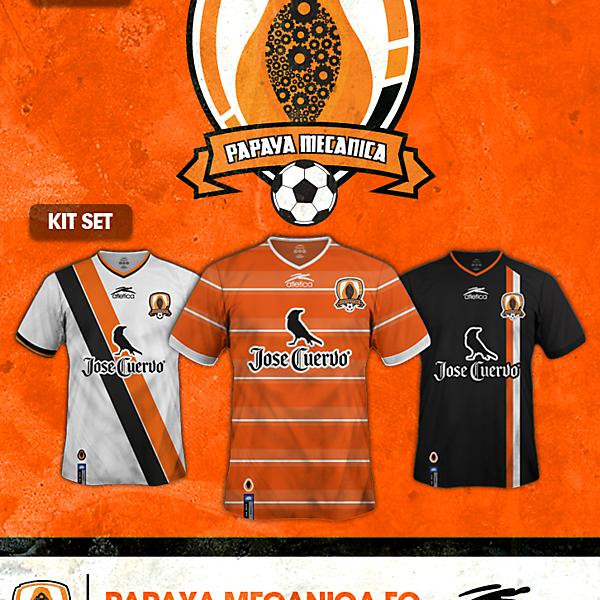 Papaya Mecanica FC crest
