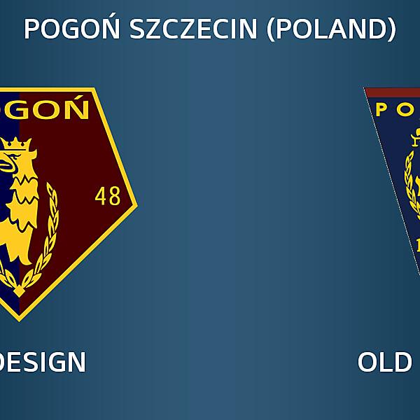 Pogoń Szczecin Redesign