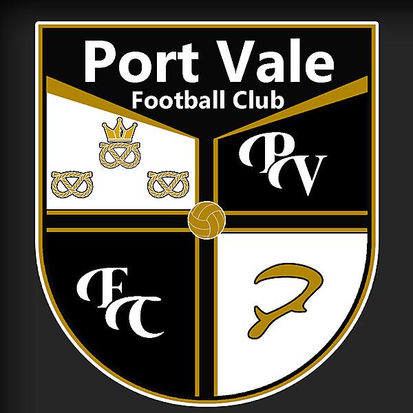 Port Vale Concept Badge