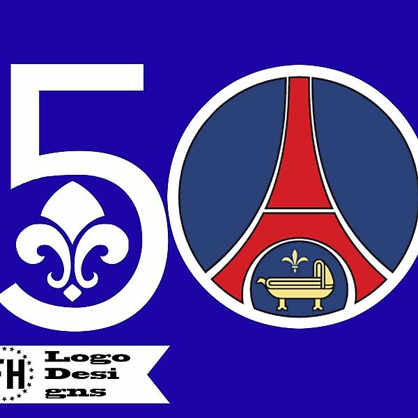 PSG 50th Anniversary Crest 1