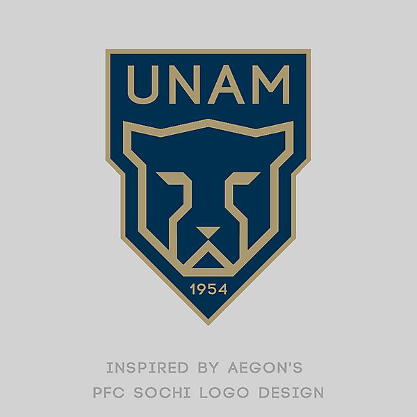 PUMAS UNAM Logo Redesign