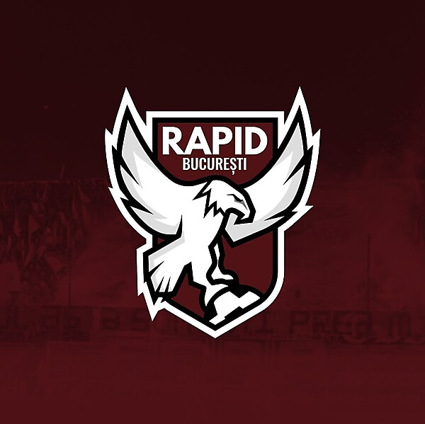 Rapid Bucharest Crest concept