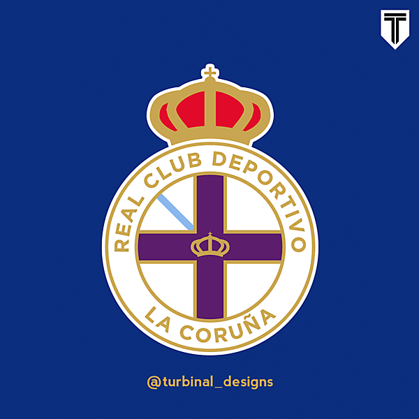 RC Deportivo La Coruña Crest Redesign