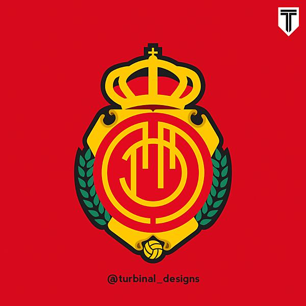 RCD Mallorca Crest Redesign
