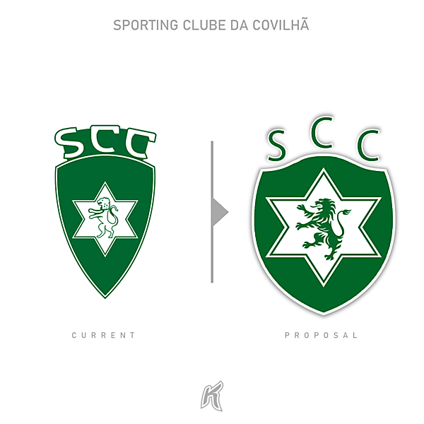 S. C: Covilhã Logo Redesign