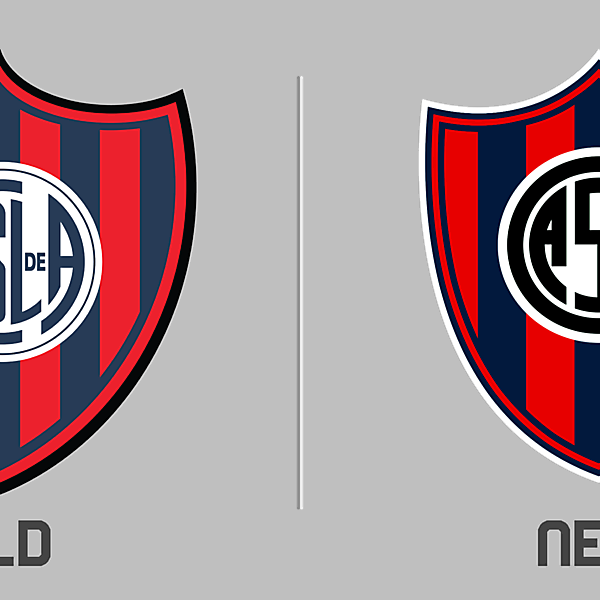 San Lorenzo de Almagro Logo Redesign
